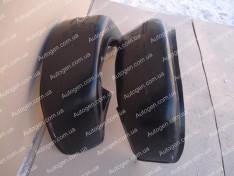 Подкрылки Nissan Almera B10 Classic (2006-2012) (Задние 2шт.) (Nor-Plast)