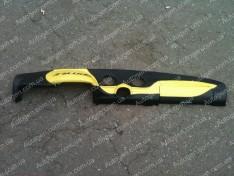 Накладка на панель ВАЗ 2106, ВАЗ 2103 желтая