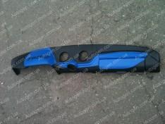 Накладка на панель ВАЗ 2106, ВАЗ 2103 синяя