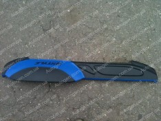 Накладка на панель ВАЗ 2107 синяя