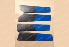 Обшивка дверей карты ВАЗ 2109, ВАЗ 21099 синяя