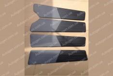 Обшивка дверей карты ВАЗ 2109, ВАЗ 21099 серая