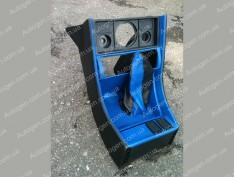 Консоль под магнитофон ВАЗ 2107 синяя