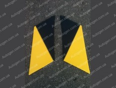 Обшивка задних стоек ВАЗ 2101, ВАЗ 2103, ВАЗ 2105, ВАЗ 2106, ВАЗ 2107 желтая