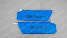 Солнцезащитные козырьки ВАЗ Нива 2121, 21213 синие
