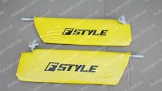 Солнцезащитные козырьки ВАЗ Нива 2121, 21213 желтые