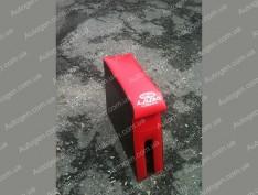 Подлокотник бар ВАЗ 2101, ВАЗ 2102, ВАЗ 2103, ВАЗ 2106 красный с вышивкой