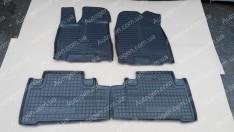 Коврики салона Acura MDX 3 (2013->) (4шт) (Avto-Gumm)