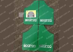 Брызговики универсальные Sparco (4шт) зеленые