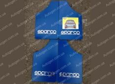 Брызговики универсальные Sparco (4шт) синие