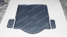 Коврик в багажник Ford Mondeo 5 TUR (универсал) (2014->) (Avto-Gumm Полиуретан)
