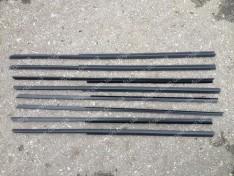 Уплотнители боковых опускных стекол (бархотка югославка нижняя) ВАЗ 2101, ВАЗ 2102, ВАЗ 2103, ВАЗ 2106