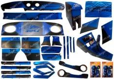 Тюнинг салона ВАЗ 2101, ВАЗ 2102, ВАЗ 2103, ВАЗ 2104, ВАЗ 2105, ВАЗ 2106, ВАЗ 2107 (36 елементов+ подарок) Синий