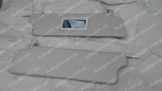 Солнцезащитные козырьки ВАЗ Нива 2121, 21213 тайга завод твердые зеркало