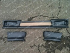 Юбка на бампер ВАЗ 2108, ВАЗ 2109, ВАЗ 21099 передняя (7110)