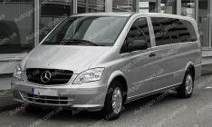 Коврики в салон Mercedes Vito W639 (2003-2015) (3шт) (Stingray)