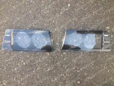 Накладки фар (защита) ВАЗ 2108, ВАЗ 2109, ВАЗ 21099 два глаза (ANV)