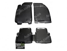 Коврики салона Chevrolet Aveo T250, Chevrolet Aveo T255 (2006-2011) (Полимерные) Lada Locker