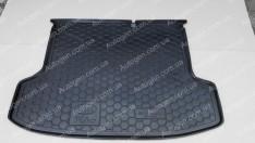 Коврик в багажник Kia Rio 2 SD (2005-2011) (Avto-Gumm Полиуретан)