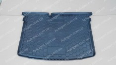 Коврик в багажник Skoda Fabia 3 HB (хетчбэк) (2014->) (Avto-Gumm Полиуретан)