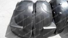Подкрылки Hyundai H1 (2) (2008->) (передние 2шт) (Mega-Locker)