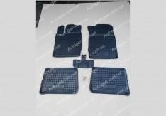 Коврики салона Renault Symbol 2 (2008-2013) (5шт) (Avto-Gumm)