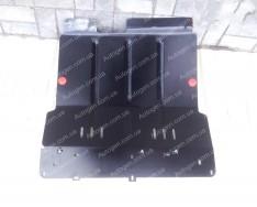 """Защита двигателя BYD F0 (увеличенная) (2008->)   """"Titanium"""""""