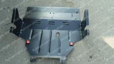 Защита двигателя Nissan Primastar 1 (+радиатор) (2001-2014)