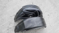 Подкрылки Hyundai Accent 4 (Solaris) (2010->) (задние 2шт) (Nor-Plast)