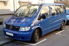 Подкрылки Mercedes Vito W638 (1995-2003) (передние 2шт) (Nor-Plast)