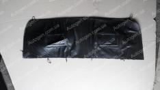 Утеплитель решетки радиатора Fiat Doblo 1 (2004-2010) мягкий черный