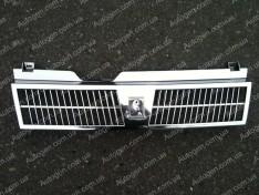 Решетка радиатора ВАЗ 2108, ВАЗ 2109, ВАЗ 21099 завод (зубатка) хром