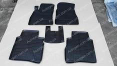 Коврики салона Nissan Sentra B17 (2012->) (5шт) (Avto-Gumm)