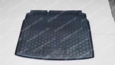 Коврик в багажник Volkswagen Golf 5 HB (2003-2008) (с докаткой)  (Avto-Gumm Полиуретан)