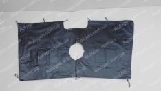 Утеплитель решетки радиатора Volkswagen Crafter (2006->) мягкий черный