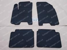 Коврики салона Chevrolet Aveo T255 (2006-2011) (4шт) (Politera)