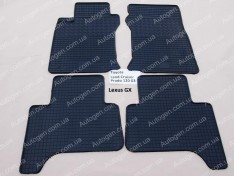 Коврики салона Lexus GX 1 (470) (2002-2009) (4шт) (Politera)