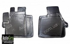 Коврики салона Fiat Ducato 3 (2006->) (Полимерные) Lada Locker