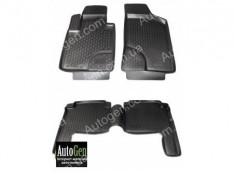Коврики салона Hyundai Santa Fe 2 (2010-2012) (Полимерные) Lada Locker