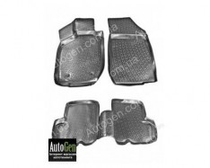 Коврики салона Renault  Sandero 2, Dacia Sandero 2 (2013->)  (Полимерные) Lada Locker