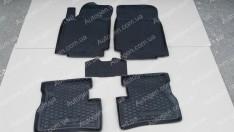Коврики салона Nissan Micra 3 (K12) (2003-2010) (5шт) (Avto-Gumm)