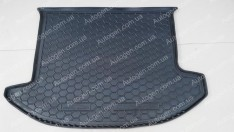 Коврик в багажник Kia Carens 3 (2006-2012) (5мест) (Avto-Gumm Полиуретан)