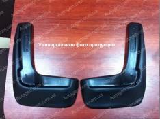 Брызговики модельные Nissan Almera G11 (2012->) (задние 2шт.) (Lada-Locker)