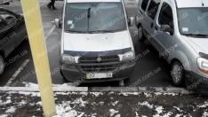 Мухобойка Fiat Doblo 1 (2000-2004) ANV