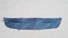 Утеплитель решетки радиатора ВАЗ Priora 2170, 2171, 2172 (малый) мягкий черный