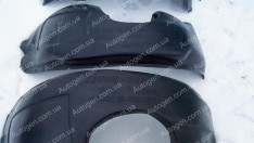 Подкрылки Kia Rio 3 (2011->) SD/HB (передние 2шт) (Nor-Plast)