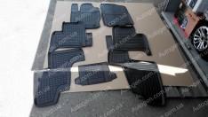 Коврики салона Mercedes X166 (2012-2015) (7 мест) (7шт) (Avto-Gumm)