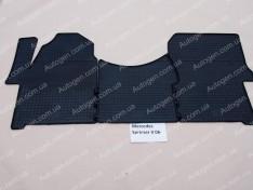 Коврики салона Mercedes Sprinter 2 (2006->) (3шт) (Politera)