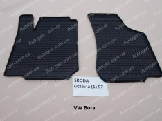 Коврики салона Volkswagen Bora (1998-2005) (передние 2шт) (Politera)