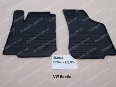 Коврики салона Volkswagen Beetle 1 New (1998-2010) (передние 2шт) (Politera)